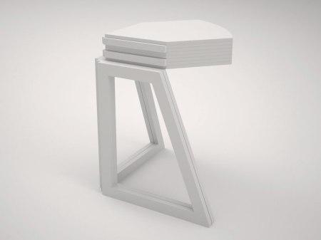 grandcentral02 450x337 Folding Table is Inspired By Pop Up Map Grand Central โต๊ะพับได้ตามรูปแบบของการพับแผนที่ป๊อปอัพ