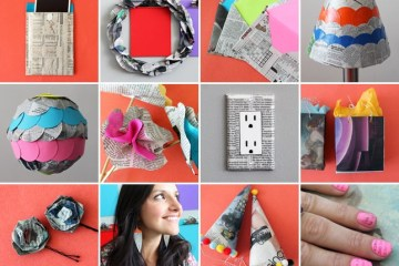 8 creative ways repurpose newspaper 9 - DIY