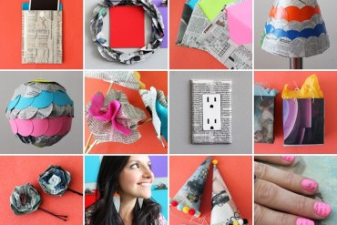 8 creative ways repurpose newspaper 26 - paper