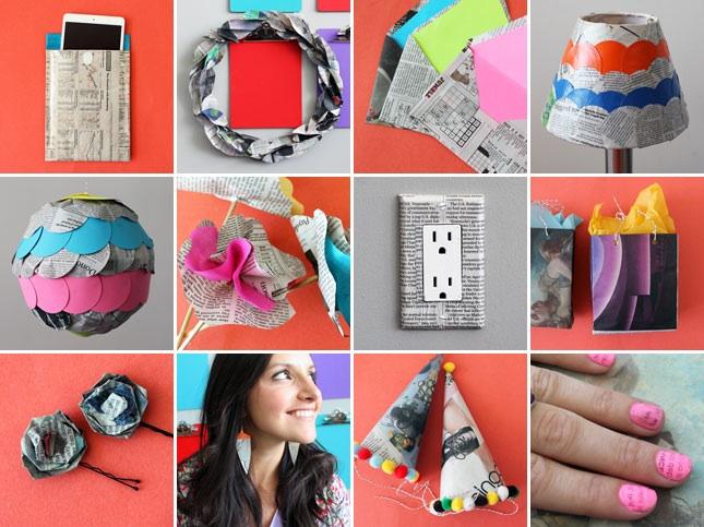 8 creative ways repurpose newspaper 27 - paper