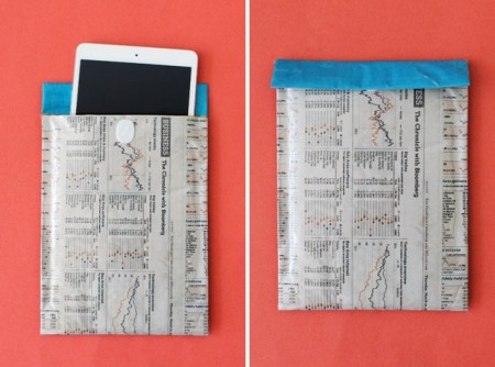 image79 450x334 8 creative ways repurpose newspaper