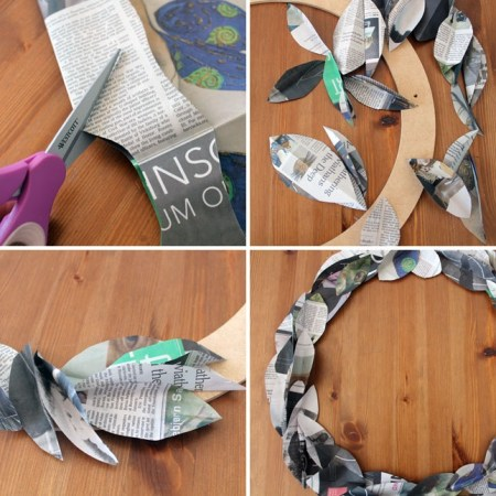 image84 450x450 8 creative ways repurpose newspaper