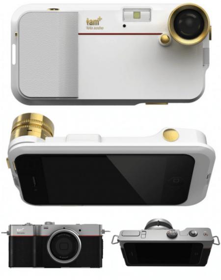 post2 450x569 Will.i.am   i.am+ Foto.sosho Digital Camera Accessories for iPhone 4/4s เคสไอโฟนถ่ายภาพได้แบบ Sport Vintage