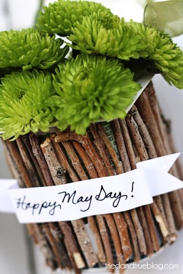 DIY..Recycled May Day Baskets 12 - DIY