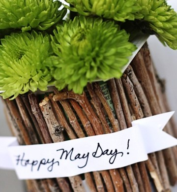 DIY..Recycled May Day Baskets 33 - DIY