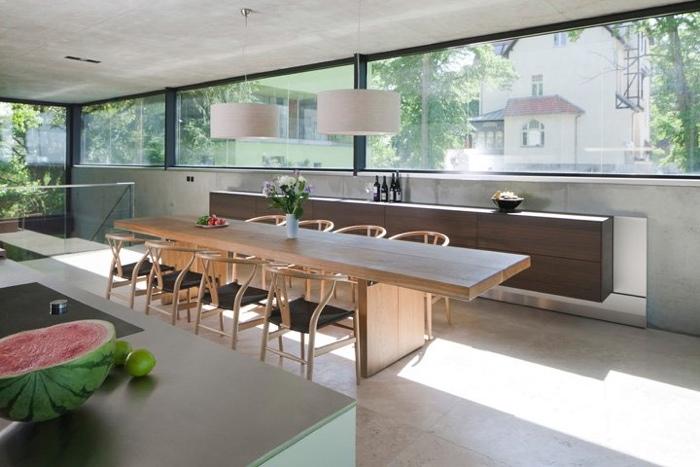 25560503 170236 Modern House..เชื่อมต่อภายนอกและภายในด้วย..คอนกรีต กระจกใส ไม้ และหิน