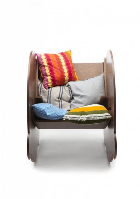 25560509 063855 KAARLO I and II เก้าอี้โยก ถอดประกอบได้ ง่ายๆ ด้วยวัสดุไม่กี่ชิ้น