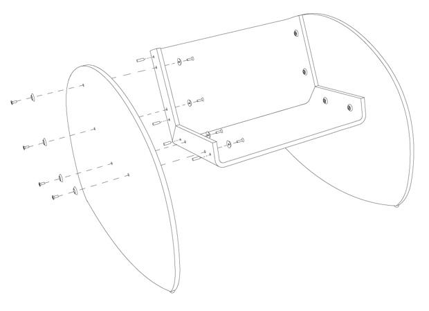25560509 063921 KAARLO I and II เก้าอี้โยก ถอดประกอบได้ ง่ายๆ ด้วยวัสดุไม่กี่ชิ้น