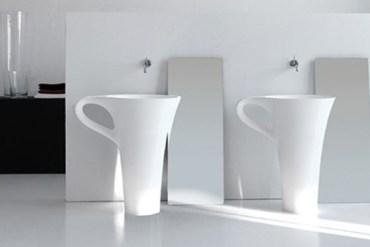 อ่างน้ำโมเดิร์น 10 แบบ ที่จะทำให้ห้องน้ำกลายเป็นจุดสดุดสายตา 19 - bathroom