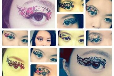 Eye Tattoos..แฟชั่นใหม่ของการตกแต่งดวงตา 15 - make up