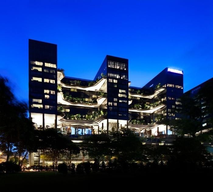 25560523 182224 สวนลอยฟ้า และรูปฟอร์มสวยงาม ที่ PARKROYAL Hotel สิงคโปร์