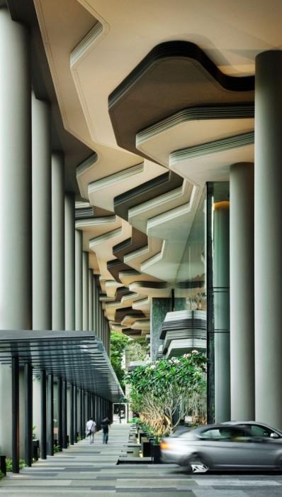 25560523 182346 สวนลอยฟ้า และรูปฟอร์มสวยงาม ที่ PARKROYAL Hotel สิงคโปร์