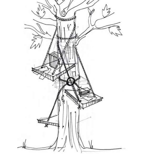 25560528 152459 DIY Tree Seat..ถ้ามีต้นไม้ ก็มีฉัน..