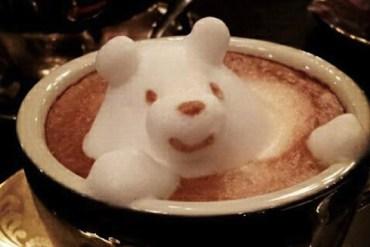 Incredible latte 3D art 25 - Coffee