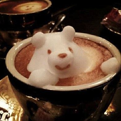 Incredible latte 3D art 21 - 3D