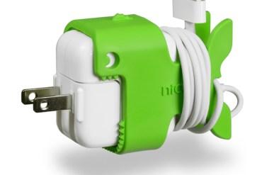 Nibbles CableKeep ..ที่เก็บสายชาร์ต iPhone, iPad แบบ..ปลาๆ 28 - gadget
