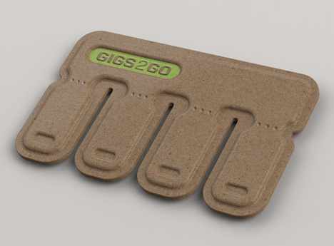 dezeen GIGS.2.GO by Bolt Group 1 GIGS.2.GO ..memory stick หักแล้วแจกกันไปเลย