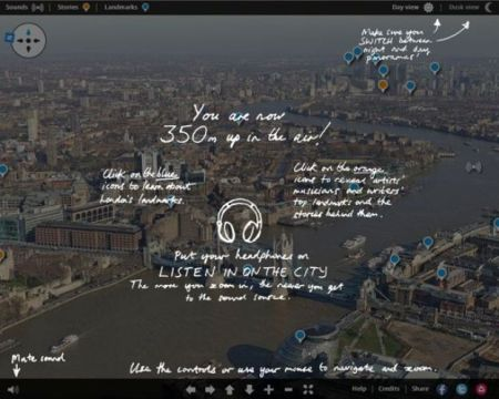 dfb8c guardian shard site 450x360 The view from the top of the Shard : London panorama of sights and sounds – interactive อยู่ที่ไหนก็มองเห็นทัศนียภาพของลอนดอน