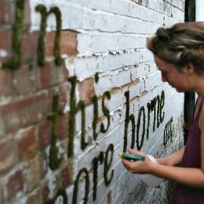 Moss graffiti ศิลปะตกแต่งกำแพงแบบใกล้ชิดธรรมชาติ 23 - Art & Design