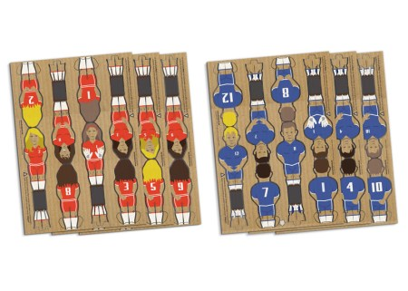 img 12 1368442071 6a8151dfa37a0aa6994cf5c48c491b48 450x321 Foosball table from cardboard