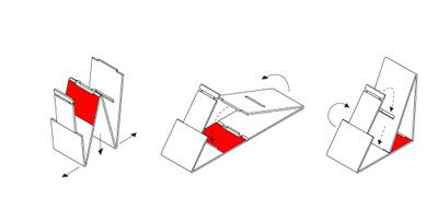 vouwwow61 Vouwwow..เก้าอี้ที่พับได้ง่ายๆจากกระดาษ 1 แผ่น