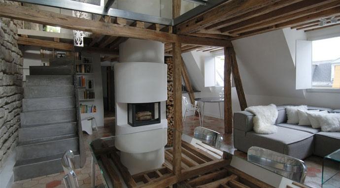 25560607 191559 บ้านเก่าอายุ 200 ปี ปรับปรุงใหม่ใจกลางกรุงปารีส