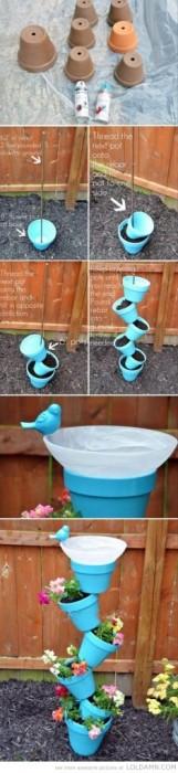 25560608 180256 Simple verticle flowerpots