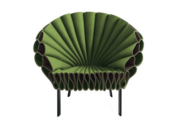 25560617 152026 Peacock Chair..เก้าอี้ทำได้ง่ายๆ ไอเดียมาจากนกยูงลำแพนหาง