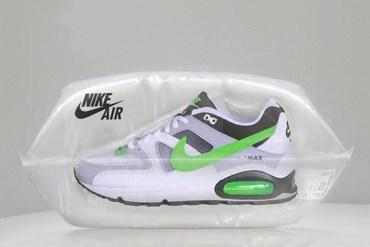กล่องรองเท้าแนวใหม่...Nike Air Max ในพลาสติกใสบรรจุอากาศ..สมชื่อ AIR 25 - packaging