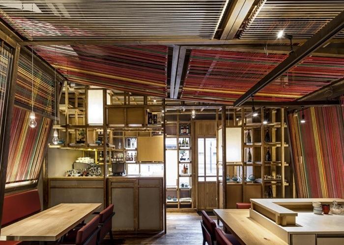 25560620 183838 Peru Pakta  ร้านอาหารที่รวม 2 วัฒนธรรมเข้าเป็น 1..เมื่อหูกทอผ้าดั้งเดิมของเปรูหุ้มห่อเฟอร์นิเจอร์สไตล์ญี่ปุ่น