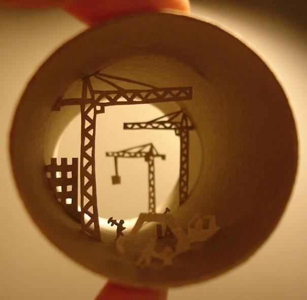 25560621 182149 ศิลปะบนแกนกระดาษทิชชู โดย Anastassia Ellias