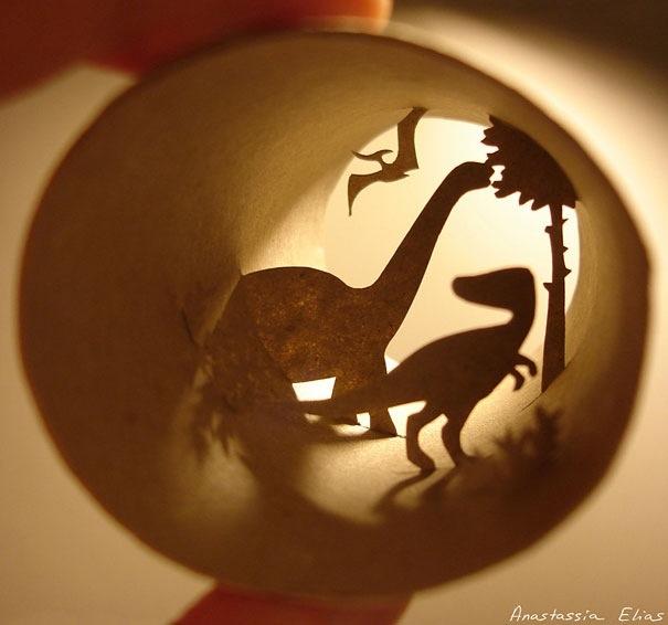 25560621 182450 ศิลปะบนแกนกระดาษทิชชู โดย Anastassia Ellias