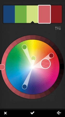 25560623 084350 Adobe Kuler app  ให้เราสร้าง color palettes จากสิ่งรอบๆตัว
