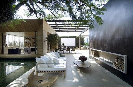บ้านนี้แยกไม่ออกว่าภายนอก หรือภายใน ไม่มีผนังและฝ้าเพดาน เพื่อให้อยู่ใกล้ธรรมชาติที่สุด 13 -
