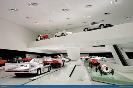 Arch2O Porsche Museum 14 450x297 Porsche Museum พิพิธภัณฑ์ของรถพอร์ช ประเทศเยอรมนี