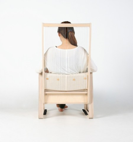 chair 450x480 The Echoism Chair by JaeYoung Jang เก้าอี้สร้างเสียงดนตรี