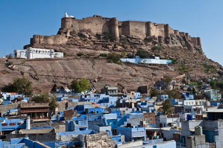 jodhpur blue city 14 450x300 Bule City เมืองสีฟ้ากลางทะเลทราย ในประเทศอินเดีย
