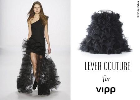 lever couture and vipp bin one shoulder IIHIH copy 450x322 VIPP's trashion couture ถังขยะกับชุดราตรีสุดหรู ในราคาร่วมแสน