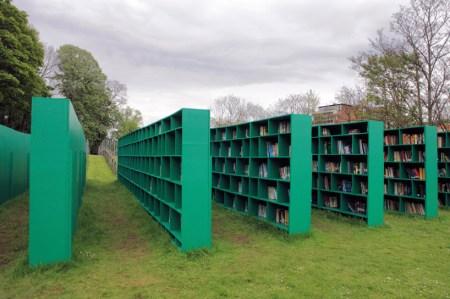 mb2 450x299 Bookyard by Massimo Bartolini ห้องสมุดสาธารณะกลางแจ้ง บนพื้นที่สีเขียว