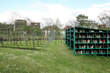 mb3 450x299 Bookyard by Massimo Bartolini ห้องสมุดสาธารณะกลางแจ้ง บนพื้นที่สีเขียว