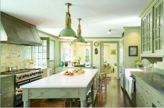 25560710 085616 ไอเดียแต่งห้องครัวด้วยสีเขียว เหลือง 30 แบบ