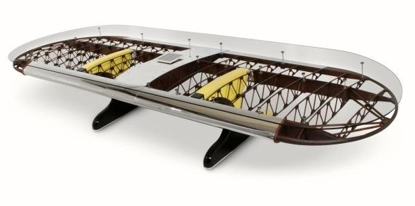 25560711 182627 โต๊ะที่ทำจากชิ้นส่วนเครื่องบินโบราณ...โดย MotoArt เพื่อคนรักเครื่องบินโดยเฉพาะ