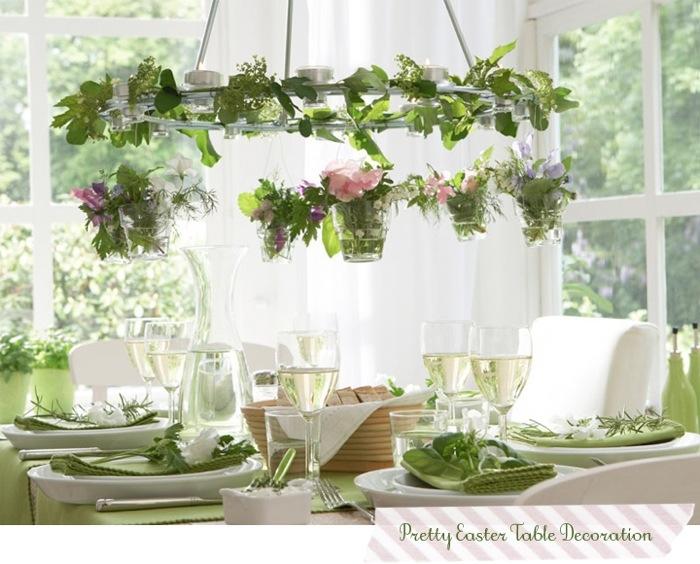 ตกแต่งโต๊ะอาหารด้วยพืชผักสีเขียว 13 -