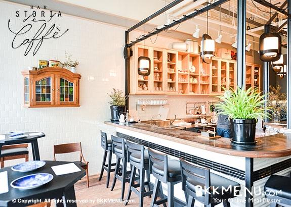Bar Storia del Caffe' ร้านกาแฟสไตล์อิตาเลี่ยน Italian + ผสมผสานความเป็นวินเทจ Vintage 13 - Bar Storia del Caffe'