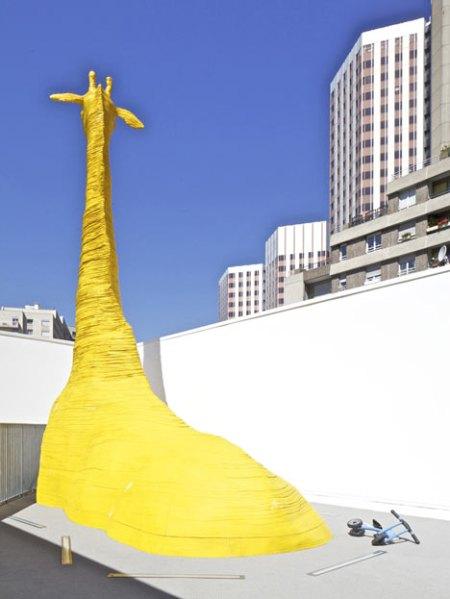 Dezeen Giraffe Childcare Centre by Hondelatte Laporte Architectes 11 450x599 Giraffe Childcare Centre ตึกยีราฟในกรุงปารีส