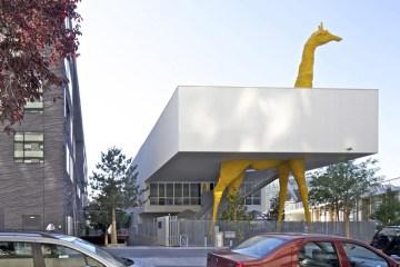 Giraffe Childcare Centre ตึกยีราฟในกรุงปารีส