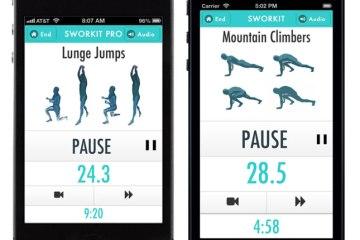 ออกกำลังได้แม้เวลาสั้นๆกับ app,Sworkit  4 - workout