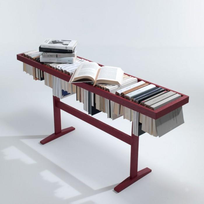 Raw edges: Booken for LEMA รางวางหนังสือที่เป็นที่เก็บหนังสือและที่คั่นหนังสือในเวลาเดียวกัน 13 - Booken