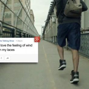 Google + Adidas = Talking Shoes 25 - Adidas