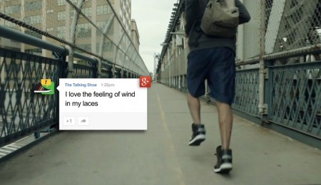 google adidas talking shoe 4 450x260 Google + Adidas = Talking Shoes